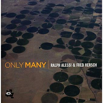 Ralph Alessi & Fred Hersch - Only Many [CD] USA import