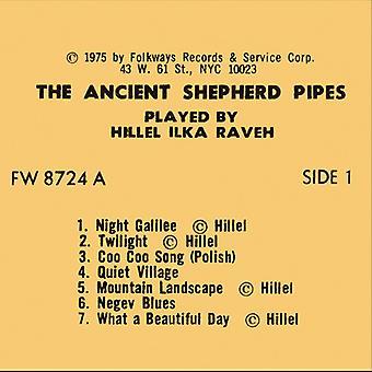 Raveh Hillel - antiguo pastor tubos [CD] USA importar