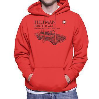 Haynes Workshop Manual 0033 Hillman Hunter GLS Black Men's Hooded Sweatshirt