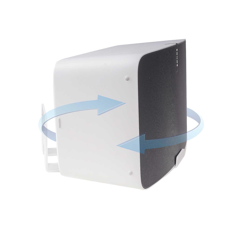Vebos wall mount Sonos Play 5 gen 2 rotatable white