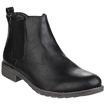 Divaz Womens/Ladies Kelly Pull On Dealer Boots