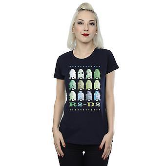 Star Wars Damen grün R2-D2 T-Shirt