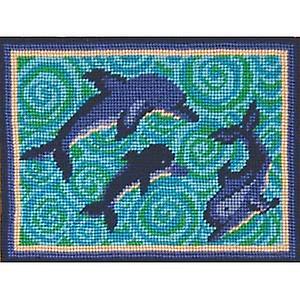 DEA: s delfiner Needlepoint Kit