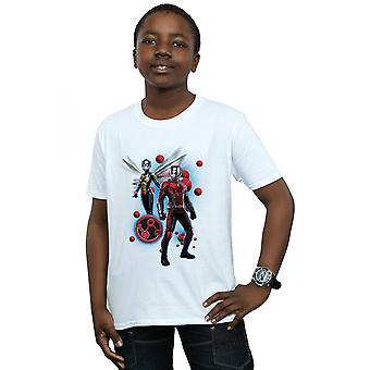 Bewundern Sie jungen Ant-Man und die Wespe Partikel Pose T-Shirt