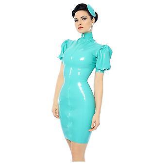 Westward związany Mansfield Kitti lateksu kauczuku sukienka.