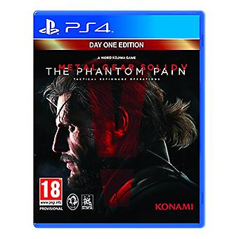 Metal Gear Solid V The Phantom Pain Day One Edition PS4 Game - New