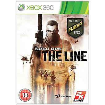 Spec Ops The Line - Including Fubar pack (Xbox 360) - As New