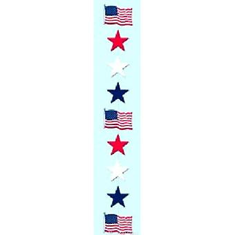 Rot, Weiß und Blue Star Stringer