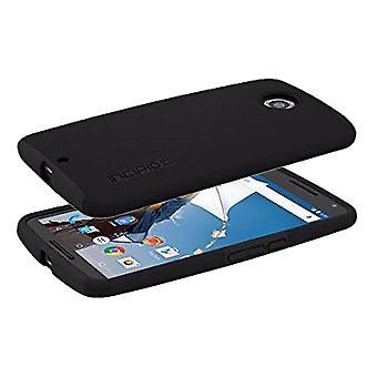 Incipio DualPro Shock-absorbing Case for Motorola Nexus 6 - Black