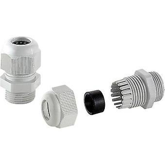 TRU COMPONENTS MBFO 20 Cable gland halogen-free M20 Polyamide Grey-white (RAL 7035) 1 pc(s)