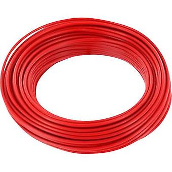BELI-BECO L118/10 rot Strand 1 x 0.14 mm² Red 10 m