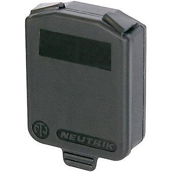Neutrik SCDX9 Flap segl Hvid 1 pc (r)