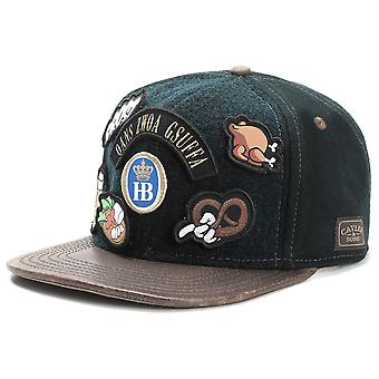 Cayler & sons Snapback OKTOBERFEST Cap - o' BABT IS forest green