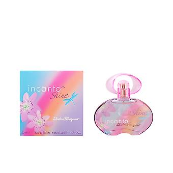 Salvatore Ferragamo Incanto Shine Eau De Toilette Vapo 50ml Unisex Fragrance