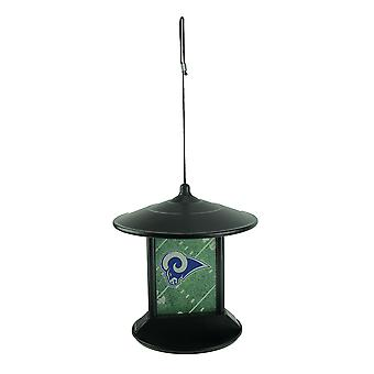 Los Angeles Rams Logo Solar Powered Hanging Birdfeeder