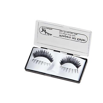 Cils cheveux humains Duo