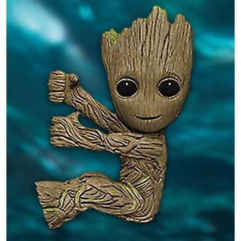 Guardiani del Galaxy 2 Scalers 2- Figura Kid Groot Plastic Figura per il bloccaggio su testa÷rer cavo, cavo di alimentazione ecc.