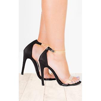 IKRUSH Womens Kim Clear High Heels