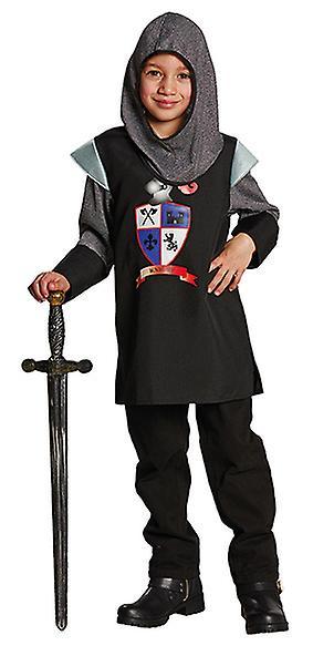 Black Knight ridder drakt drakt for barn