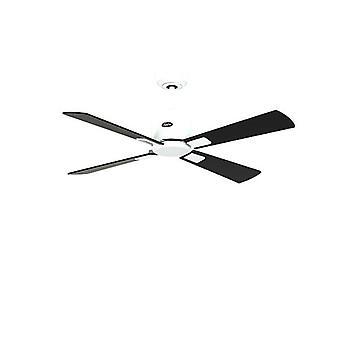 """DC ceiling fan Eco Neo II 103cm / 41"""" WH Black / Teak"""
