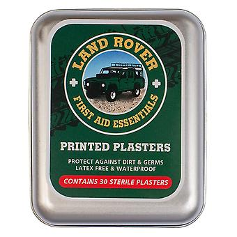 Land Rover Printed Plasters