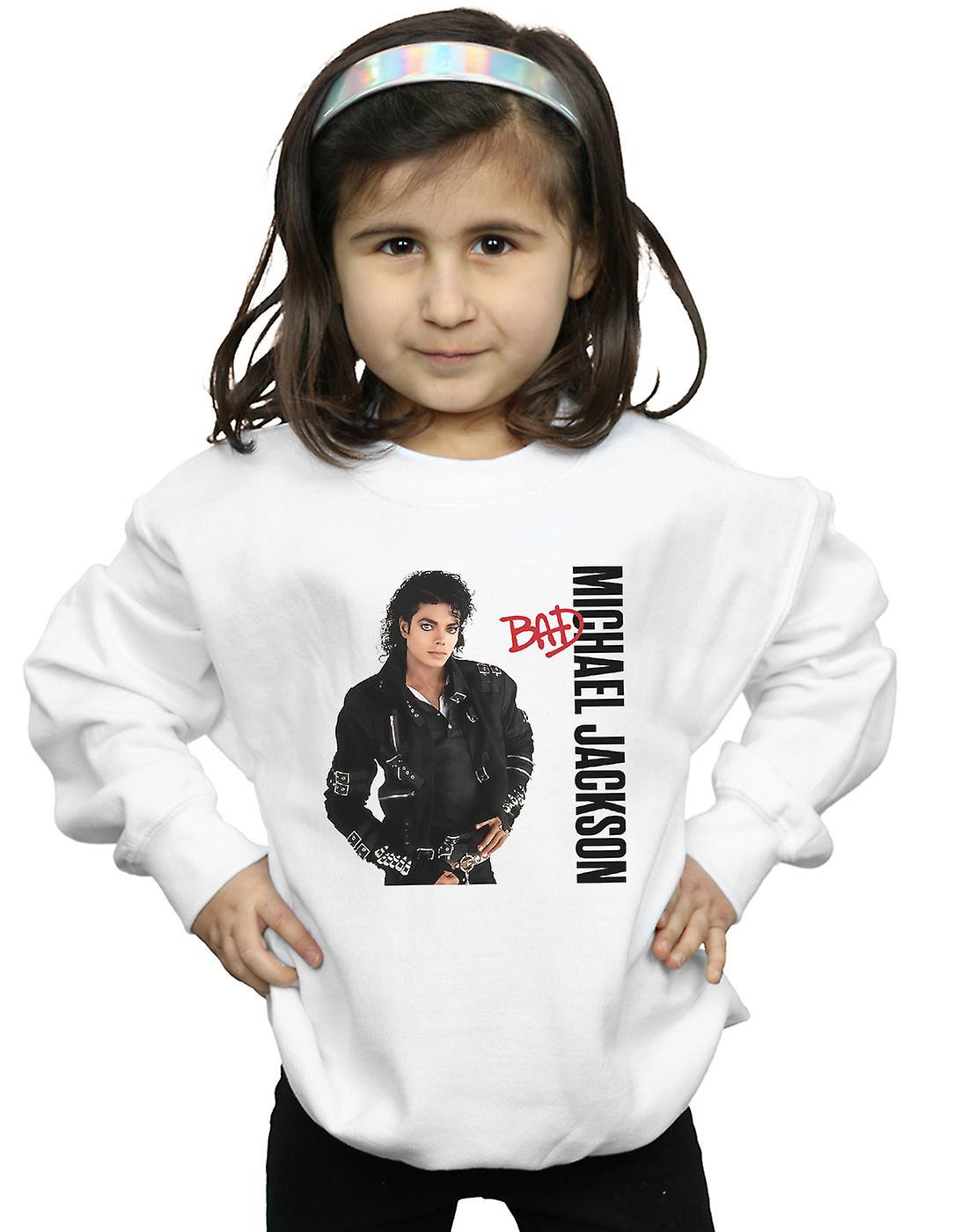 Michael Jackson Girls Bad Pose Sweatshirt