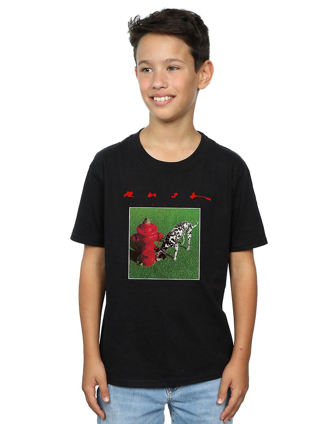 Rush Boys Signals Cover T-Shirt