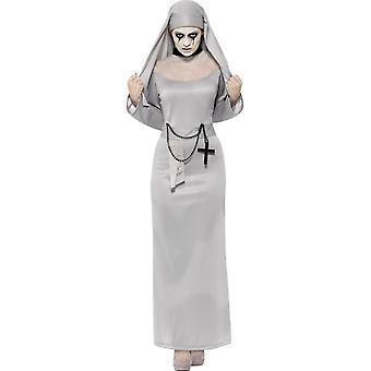 Gothic Nun Costume, UK 16-18