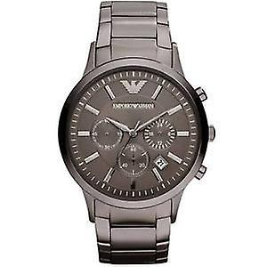 Armani watches ar2454 gents grey stainless steel watch