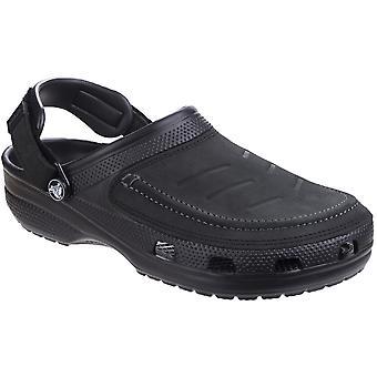 Crocs Mens Yukon Vista justerbar stödjande bekväm Clog sandaler