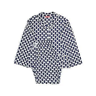 Minijammies 5358 Girl's Rosie Navy Blue Pyjama Set