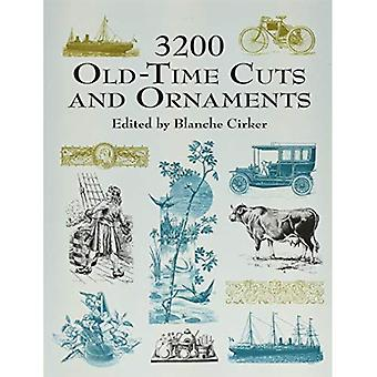 3200 Old-time Cuts and Ornaments (Dover Pictorial Archives)