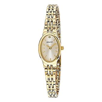 Accurist Fizz Montre Mixte wristwatch, female, stainless steel, gold