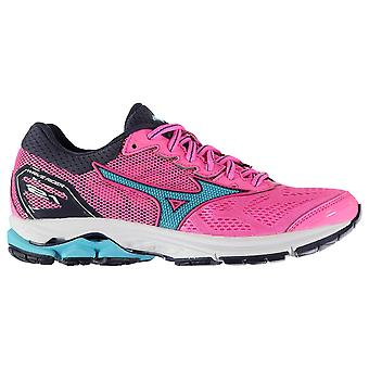 Mizuno Womens Wave Rider 21 Running Shoes Road Breathable Mesh Upper Comfortable