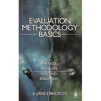 Utvärdering metodik grunderna och muttrar av ljud utvärdering Davidson & Jane