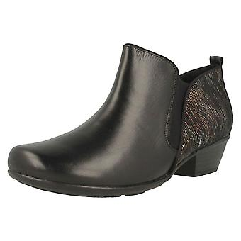 Damen Remonte Low Heel Ankle Boot D7364