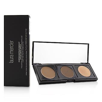 Laura Mercier Custom Contour Compact: (1x Highlight #1 1x Contour Deep #2 1x Contour #1)-3x2g/0.07oz