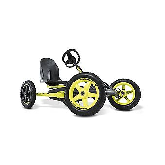 BERG Buddy Cross Kids Pedal Go Kart Yellow/Black