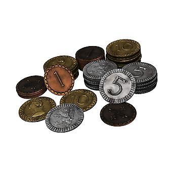 Φυλές της Καληδονία μεταλλικά νομίσματα