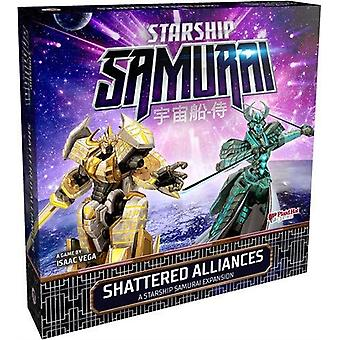 Starship Samurai Shattered Alliances Expansion Pack for Board Game