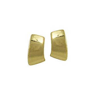 Eternal Collection Clarity Petite Classic Gold Tone Stud Pierced Earrings