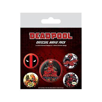 Deadpool, 5x Pins