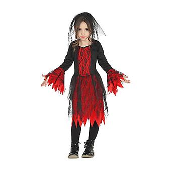 Enfants Halloween Gothic Girl Fancy Dress Costume