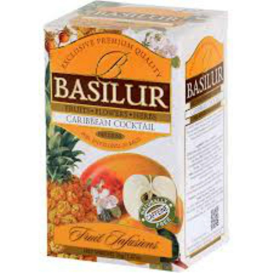 Caribbean Cocktail Fruit Infusion -pack Of 3 Total 60 Tea Bags