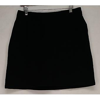Liz Claiborne York Skirt Solid or Dot Print Black A264133