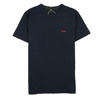 Hugo Boss Piccolo Logo T-shirt Blue Marl