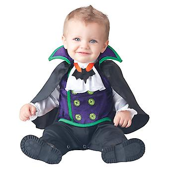 Count Cutie Vampire Dracula Halloween Toddler Boys Costume