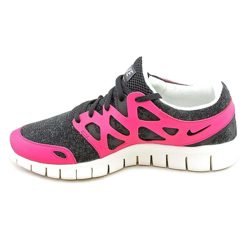 Nike Womens NIKE FREE RUN- 2 EXT Fabric Low Top Lace Up Running Sneaker