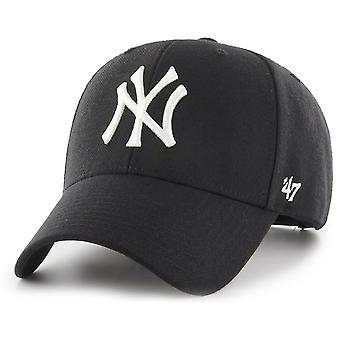 47 fire curved Snapback Cap MVP New York Yankees black