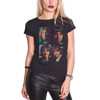 The Beatles T Shirt White Album Faces new Official Womens Skinny Fit Black The Beatles T Shirt White Album Faces new Official Womens Skinny Fit Black The Beatles T Shirt White Album Faces new Official Womens Skinny Fit Black The Beatles